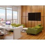 Комфортно и солидно, персональный кабинет с качественным диваном - лучшее решение.
